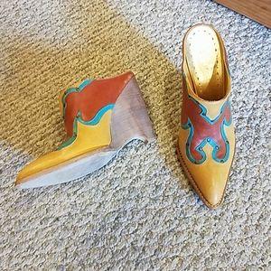 Ladies Mule style boot